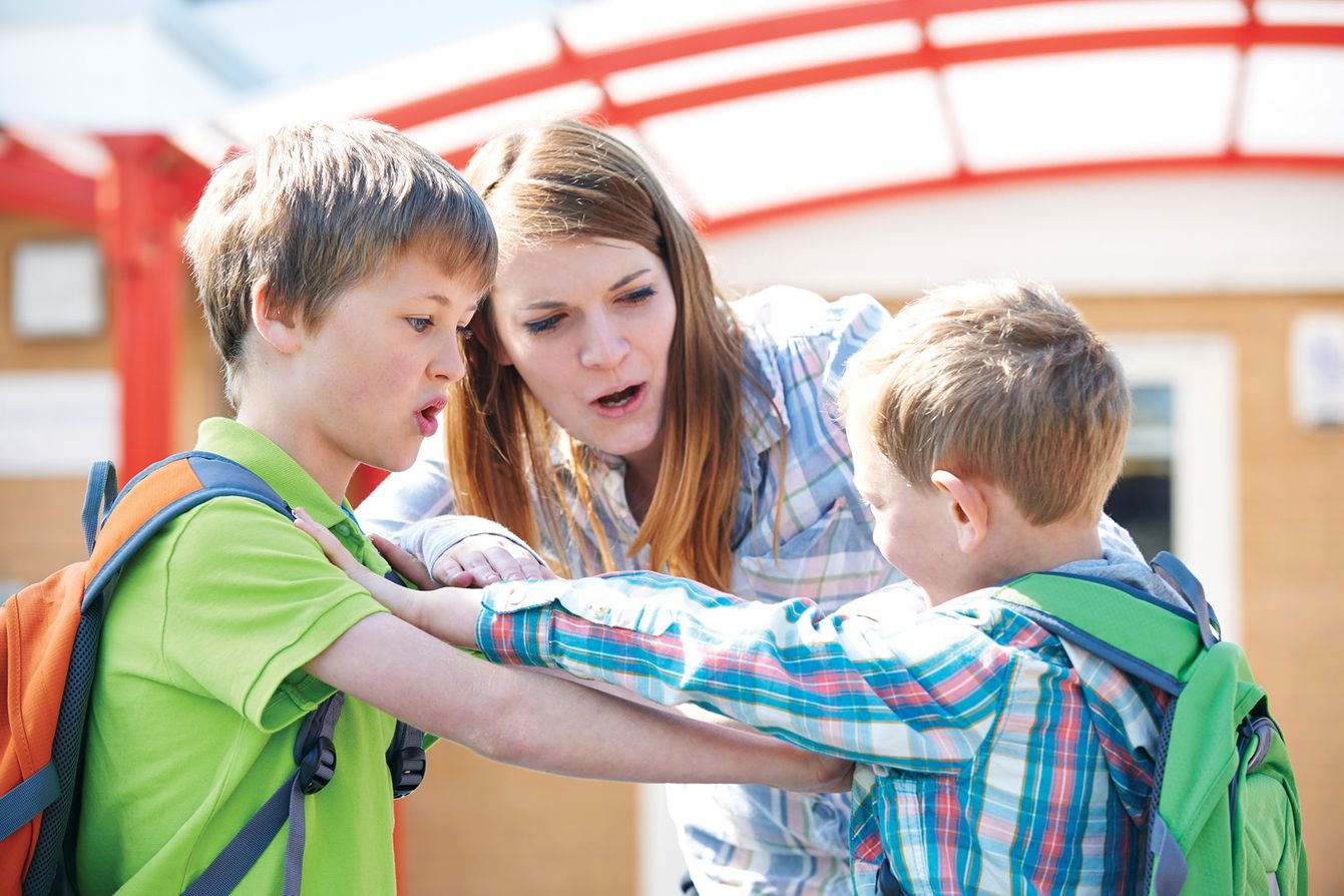Would you discipline another parent's child?