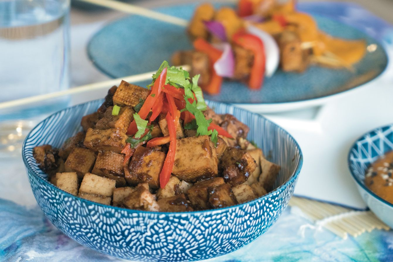 Marinated Tofu — Cooking with Gia and Olive