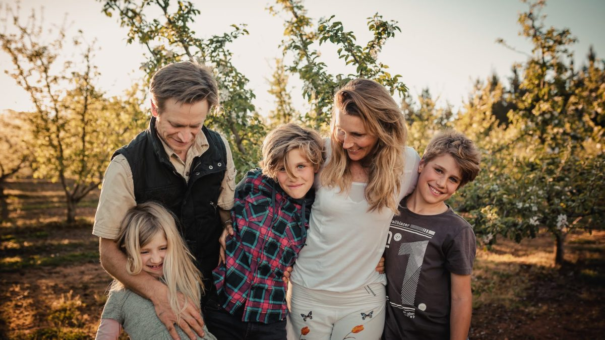How I gave my children the experience of really living
